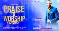Church Flyer Template Publicité Facebook