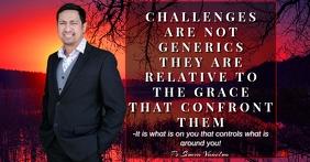 Church flyers Рекламное объявление Facebook template