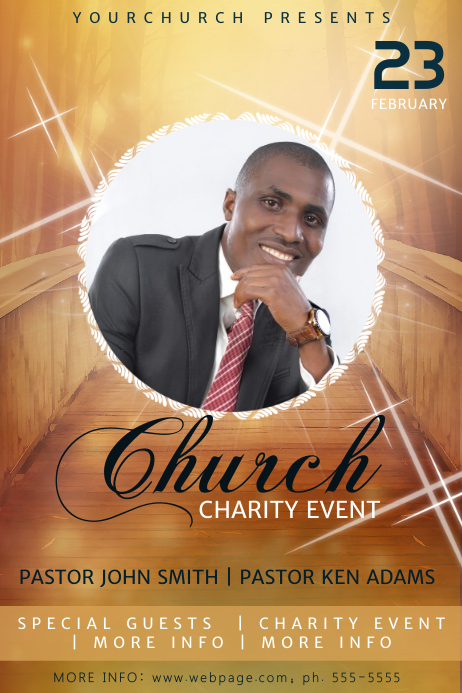 Church Gospel Flyer Template