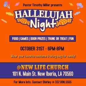 CHURCH HALLELUJAH NIGHT