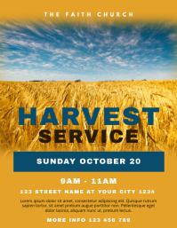Church Harvest Service