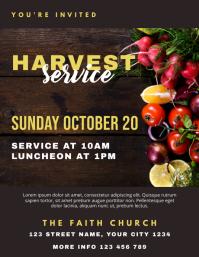 Church Harvest Service Luncheon