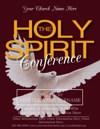 Church Holy Spirit Conference Event Template