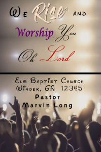 Church info Flyer Template