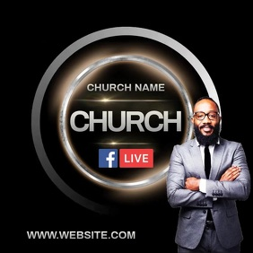 CHURCH INSTAGRAM POST TEMPLATE Logo