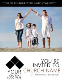 Church Invitation Flyer Template
