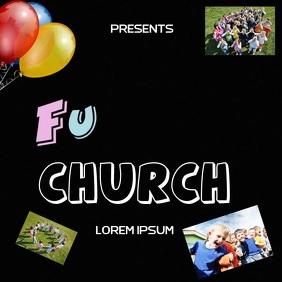 CHURCH KIDS FUN DAY AD SOCIAL MEDIA