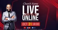 CHURCH LIVE ONLINE SERMON TEMPLATE Imagem partilhada do Facebook