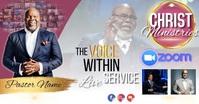 church live service template Imagem partilhada do Facebook