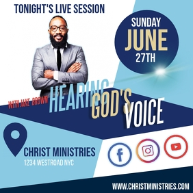 CHURCH LIVE SESSION TEMPLATE Logo