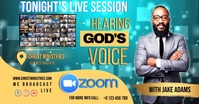 cHURCH LIVE zoom SESSION TEMPLATE Facebook Shared Image