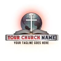 Church Logo, Christian Logo template