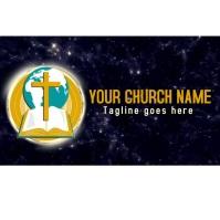 church logo, church video logo, church intro. template