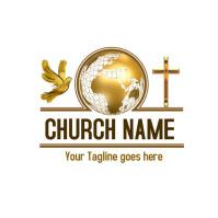 church logo, logo, christian logo Logotipo template