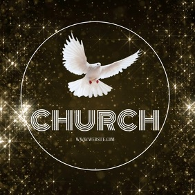 CHURCH LOGO design FLYER Template