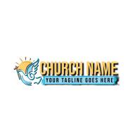 church logo 徽标 template