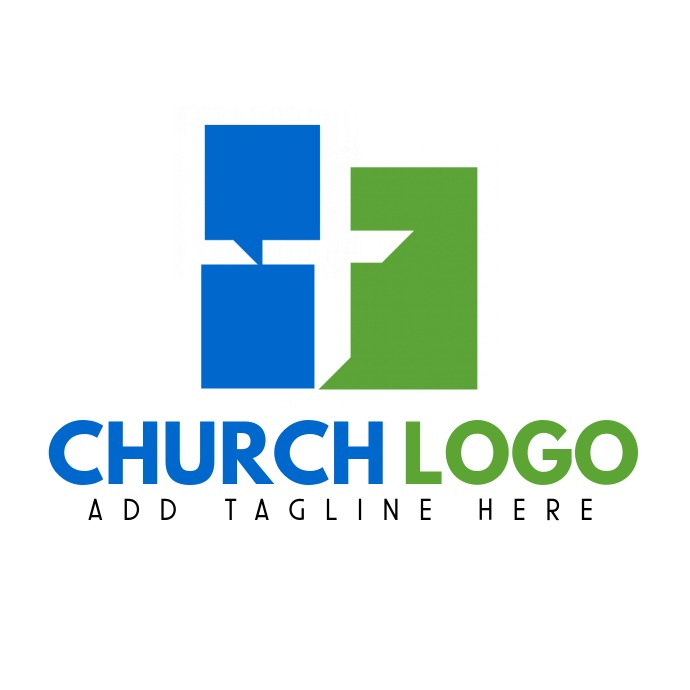 church logo icon Logotipo template