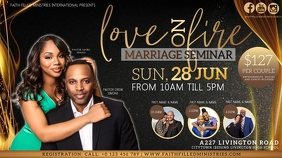 CHURCH MARRIAGE SEMINAR TEMPLATE YouTube Thumbnail