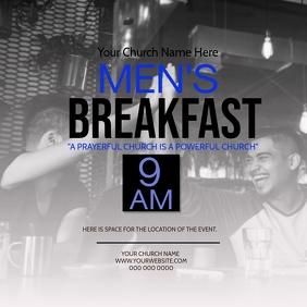 Church Men's Breakfast Event Template