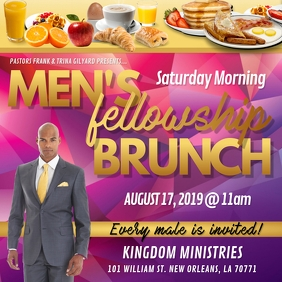 CHURCH MEN'S BRUNCH