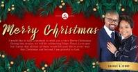 CHURCH MERRY CHRISTMAS WISHES Template Gambar Bersama Facebook