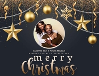 CHURCH MERRY CHRISTMAS WISHES Template Pamflet (VSA Brief)