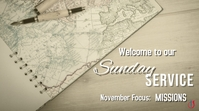 Church Missions_Welcome YouTube Thumbnail template