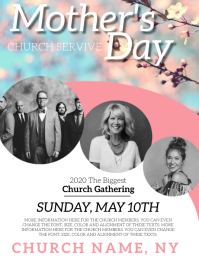 Church Mother's Day Service Event Template
