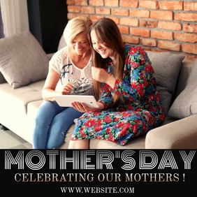 CHURCH MOTHERS DAY INSTAGRAM VIDEO TEMPLATE 徽标