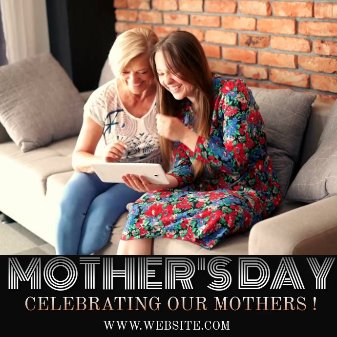 CHURCH MOTHERS DAY INSTAGRAM VIDEO TEMPLATE Logo