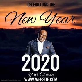 CHURCH NEW YEAR SERMON SERVICE TEMPLATE