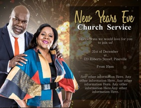 Church New Years Eve Event Template
