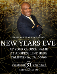 Church New Years Eve Service Template