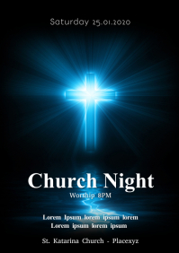 Church Night Worship Conference Service