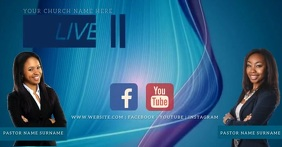 Church Online at Home Video Template