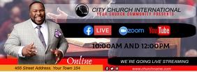 church online Foto Sampul Facebook template