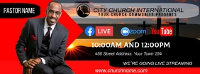 church online Facebook Cover Photo template