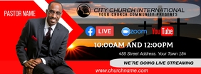 church online Fotografia de capa do Facebook template