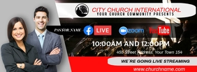 church online Facebook Omslag Foto template