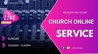 Church online Presentation (16:9) template
