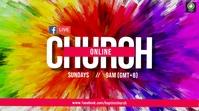 Church Online Tampilan Digital (16:9) template