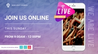 Church Online Pagtatanghal (16:9) template