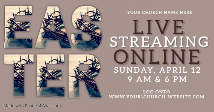 church online from home template