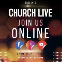 CHURCH ONLINE INSTAGRAM POST TEMPLATE Logo