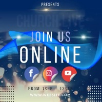 CHURCH ONLINE INSTAGRAM POST TEMPLATE Logo
