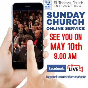 Church online service design