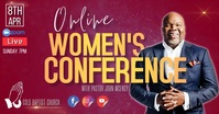 CHURCH ONLINE WOMEN'S CONFERENCE TEMPLATE Facebook Shared Image