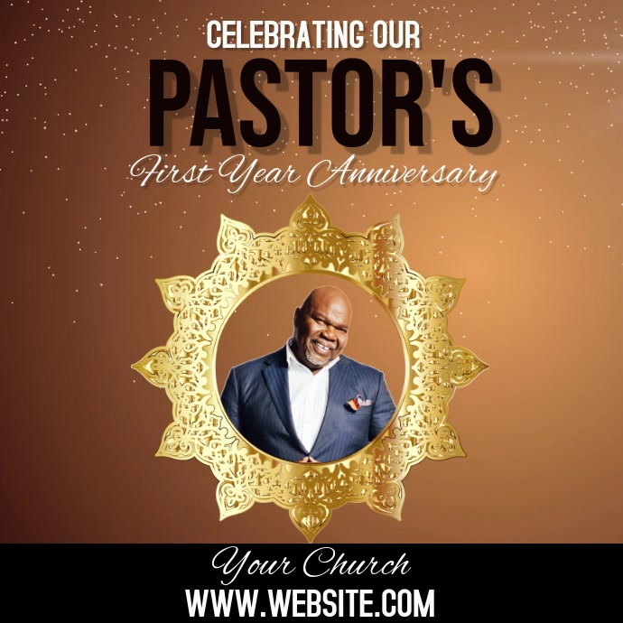 CHURCH PASTOR ANNIVERSARY