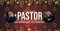 church pastor appreciation online card Image partagée Facebook template