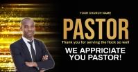 Church pastor appreciation online card templa Facebook 共享图片 template